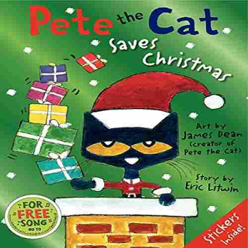 pete the cat saves christmas book cover