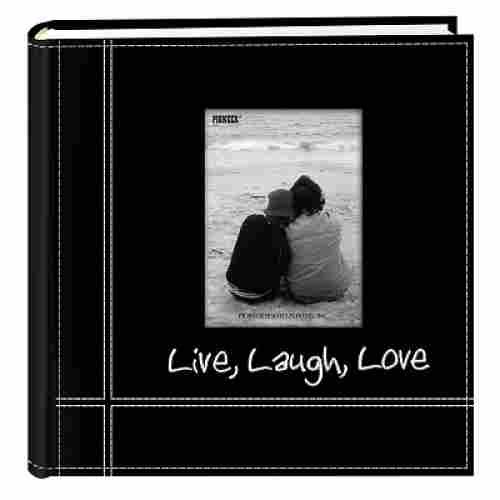 Pioneer Live Laugh Love family photo album front view