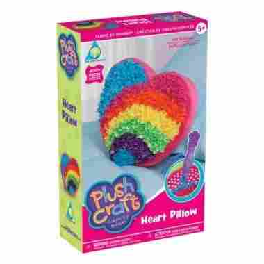 The Orb Factory Plush Craft Heart Pillow Kit
