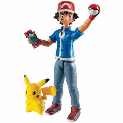 Hero Figure Ash and Pikachu best pokemon toys