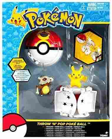 Throw 'n' Pop Poke Balls