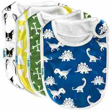 Cute Baby Toddler Bibs by KUDL