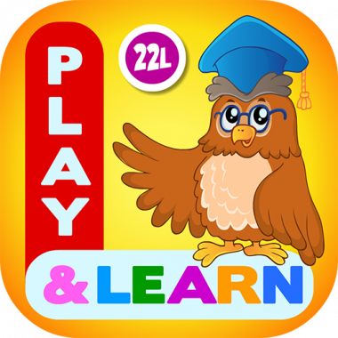 kids coloring learning game
