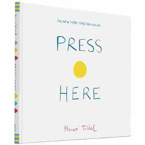press here book for 3 year olds cover