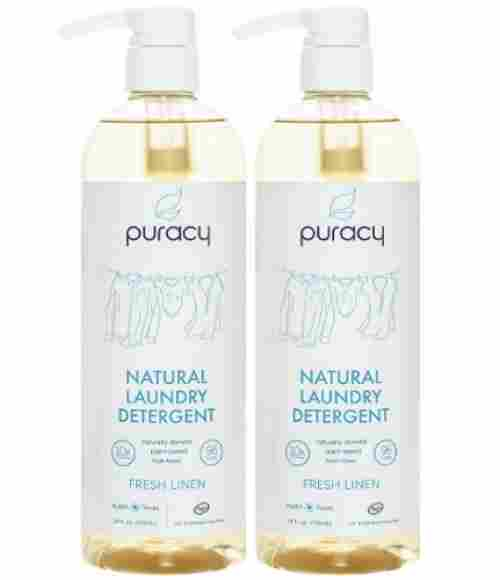 puracy natural liquid 192 loads baby laundry detergent