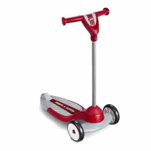 my first radio flyer kids scooter red