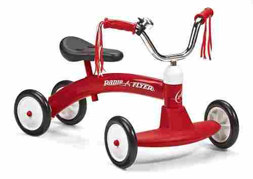 radio flyer scoot-about big wheels for kids