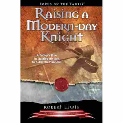 raising modern day knight book on fatherhood cover