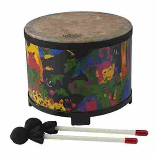 remo rainforest floor tom drum sets for kids and toddlers