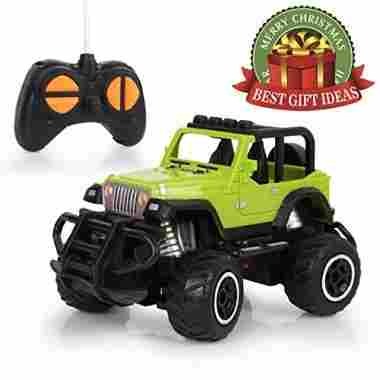 HALOFUN Mini RC Jeep Vehicle