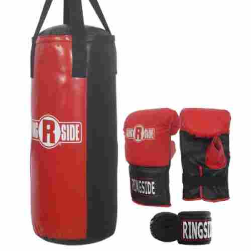 ringside youth heavy kit punching bag for kids pieces