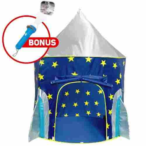USA Toyz Kids Play Tent Rocket Ship