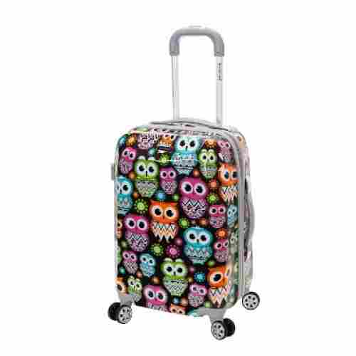 rockland 20 inch polycarbonate kids luggage set