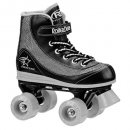 youth boys firestar roller skates for kids black and grey
