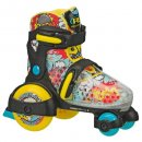 boy's fun roll adjustable roller skates for kids colorful