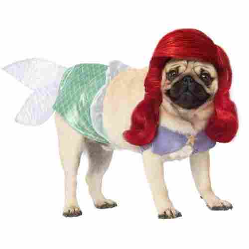 disney princess halloween dog costume ariel