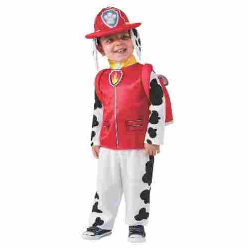paw patrol marshall halloween costume for kids front