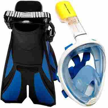OCEAN VIEW free breathing Snorkal Mask