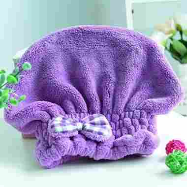 Microfiber Hair Drying Towel Wrap