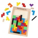 sainSmart jr. tetris puzzle wooden toys for kids and toddlers