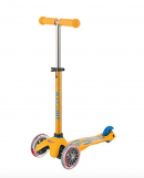micro mini deluxe kids scooter yellow