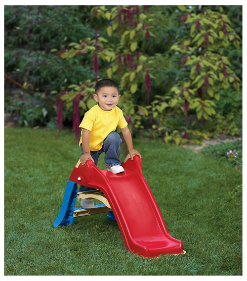 American Plastic Toys Kids Outdoor Slide display