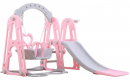 Toddler Climber and Swing Set Slide Swing Combination 3 in 1