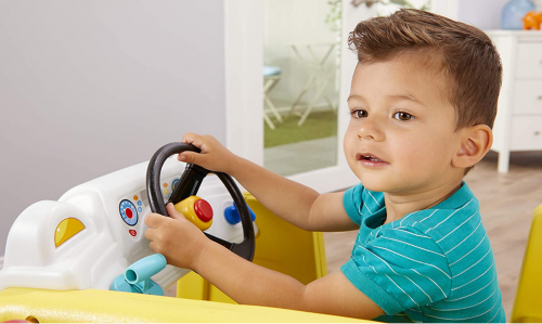 Little Tikes Little Baby Bum Wheels on The Bus Climber and Slide with Interactive Musical Dashboard 2