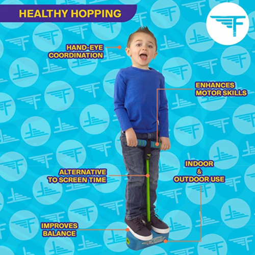 Flybar My First Foam Pogo Jumper for Kids Fun and Safe Pogo Stick display