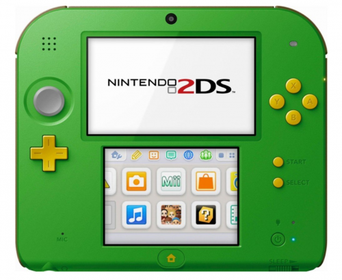 Nintendo 2DS - Legend of Zelda Ocarina of Time 3D 2