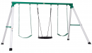 Backyard Discovery Little Brutus Metal Swing Set