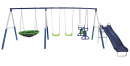 XDP Recreation All Star Outdoor Playground Backyard Kids Toddler Play/Swing Set