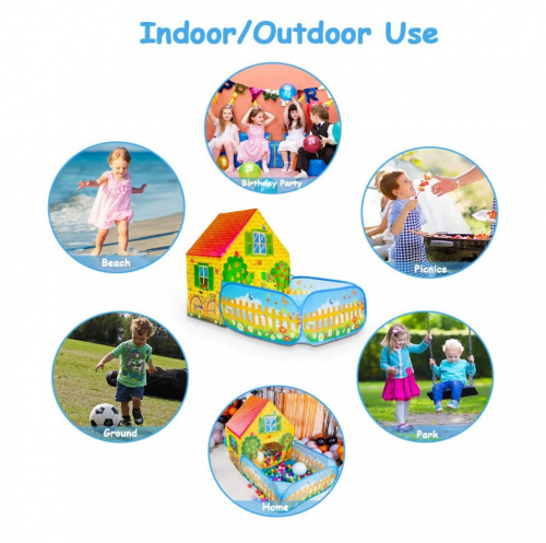 SkyNature Kids Play Tent specs 2