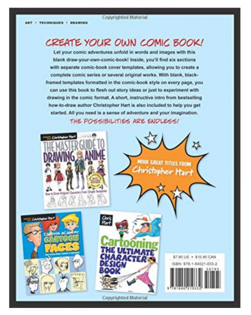 Blank Comic Book: Draw Your Own 2
