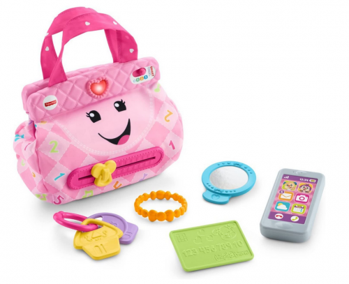 Fisher-Price Laugh & Learn My Smart Purse detail