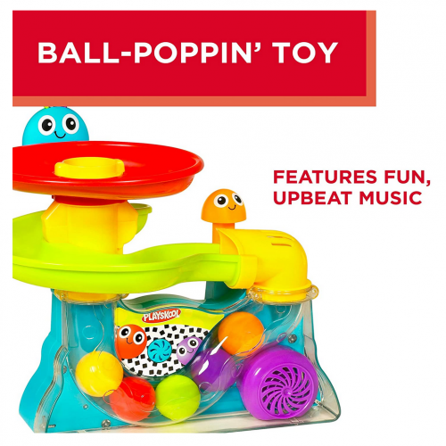 Playskool Explore N' Grow Busy Ball Popper details 2
