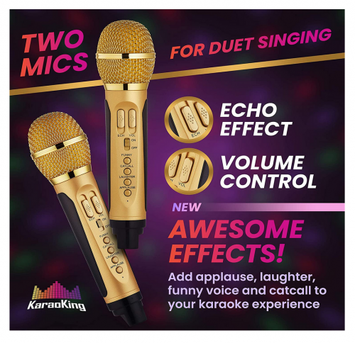 KaraoKing New 2020 Karaoke Machine specs
