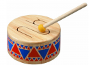 PlanToys Wooden Solid Drum Musical Toy Percussion Instrument
