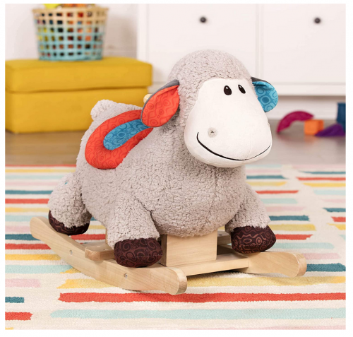 B. Toys – Loopsy Wooden Rocking Sheep – Rodeo Rocker 2