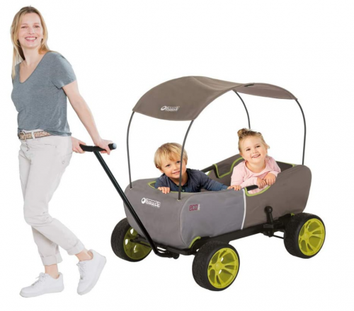 Hauck Eco Wagon - Forest Green 2