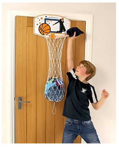 Taylor Toy Basketball Hoop Hamper  3