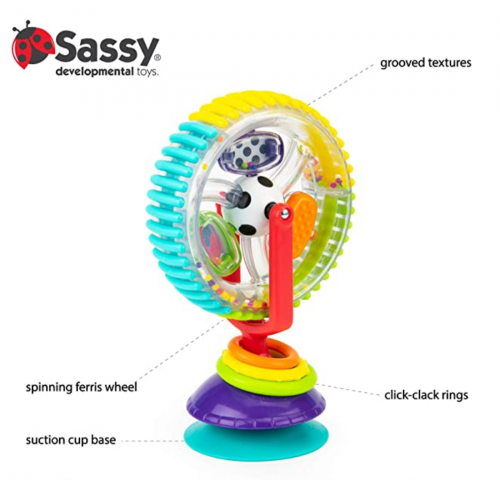 Sassy Wonder Wheel Activity Centre  3