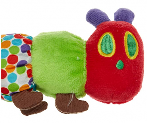 The Very Hungry Caterpillar Teether Rattle detail 2