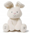 Baby GUND Flora The Bunny Animated Plush Stuffed Animal Toy