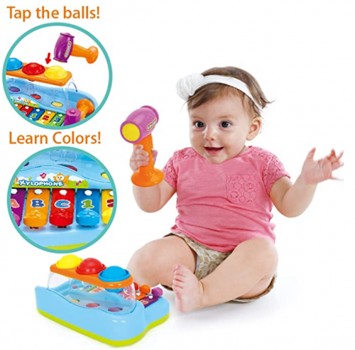 JOYIN Baby Pound & Tap Bench Xylophone Musical Toy 2