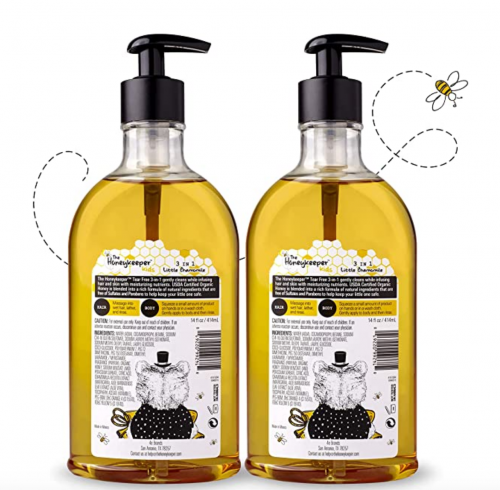 The Honeykeeper Kids Little Chamomile 3 in 1 Shampoo 2
