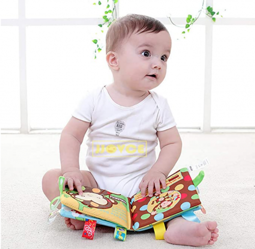 SUNEN Baby Soft Book Cloth Book  2