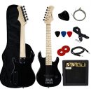 "YMC 30"" Kids Electric Guitar Pack"
