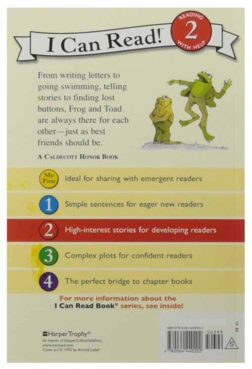 Frog and Toad are Friends2