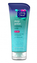 Clean & Clear Oil-Free Deep Action Exfoliating Facial Scrub